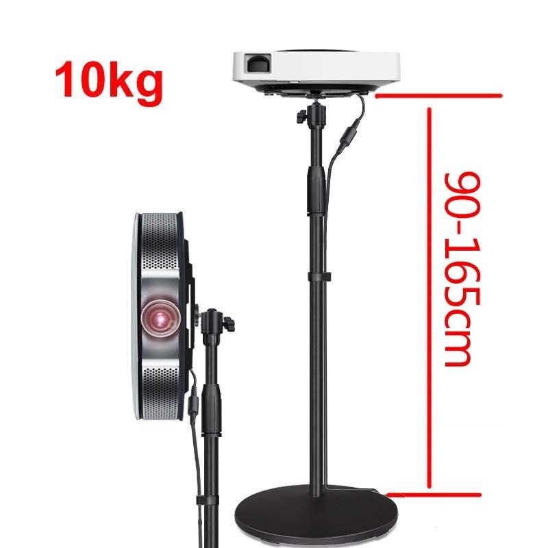 (85-160 cm) T2-85160 10kg universal forte mini projetor suporte de mesa p2 x1 G1-S ppx4350 ppx4935 x6 suporte de montagem de mesa de vídeo