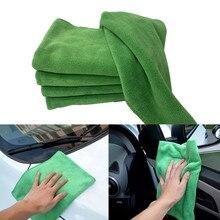 2 szt. Ręcznik do czyszczenia samochodu miękki mikrofibra czyszczenie mały ręcznik kwadratowy absorpcja wody czyszczenie 40X40cm ręcznik Anti stati