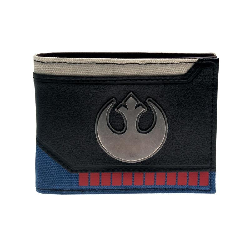 Star Wars Wallet Fashionable High Quality Men's Wallets Designer New Purse Dft2025