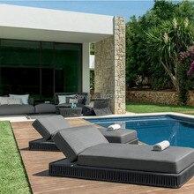 Роскошный сад крыльцо веревка наружный шезлонг мебель для гостиной распродажа