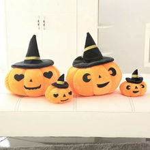 Newest Halloween Plush Soft Pumpkin Pillow Home Decorative Hat