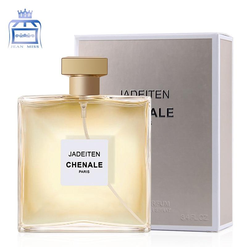 Perfumed Women Atomizer Perfumed Bottle Beautiful Package 100ml Female Parfums Fashion Lady Flower Fruit Fragrance W37