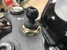 Camera Ondersteuning Makkelijk Installeren Uitgeholde Bal Hoofd Mount Telefoon Houder Praktische DIY Vorkbuis Base Motorcycle Rubber Fiets
