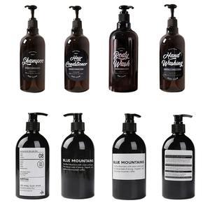 Shampoo Bottle Soap Liquid Bathroom-Dispenser Shower-Gel