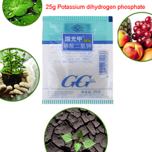 25 г калия диводородный фосфатный лист поверхностного удобрения способствует растению цветка общего удобрение для роста растительного удобрения