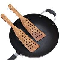 Houten Spatel Houten Schop Voor Non stick Pan Rijst Lepel Keuken Koken Tool Houten Spatel Kookgerei Keuken Accessoires Gadgets Kook benodigdheden Sets Huis & Tuin -