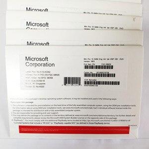 Image 2 - マイクロソフト OS Windows 10 プロ 64 ビット OEM DVD 製品キー COA ナンバー 1PK DSP OEI バージョン英語またはロシア、 10 ピース/ロット