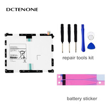 DCTENONE Battery EB-BT550ABE EB-BT550ABA For Samsung GALAXY Tab A 9.7 T550 T555C P555C P550 6000mAh Tablet Battery цена 2017
