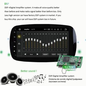 Image 4 - PX6 Autoradio 1 Din Android 10 Multimedia Speler Dvd Gps Autoradio Voor Mercedes/Benz Smart Fortwo 2015 2018 Audio Navigatie Gps