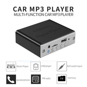 Image 5 - KEBIDU Wireless Bluetooth5.0 MP3 Decoding Board Module Car USB MP3 Player TF Card Slot / USB / FM / Remote Decoding Board Module
