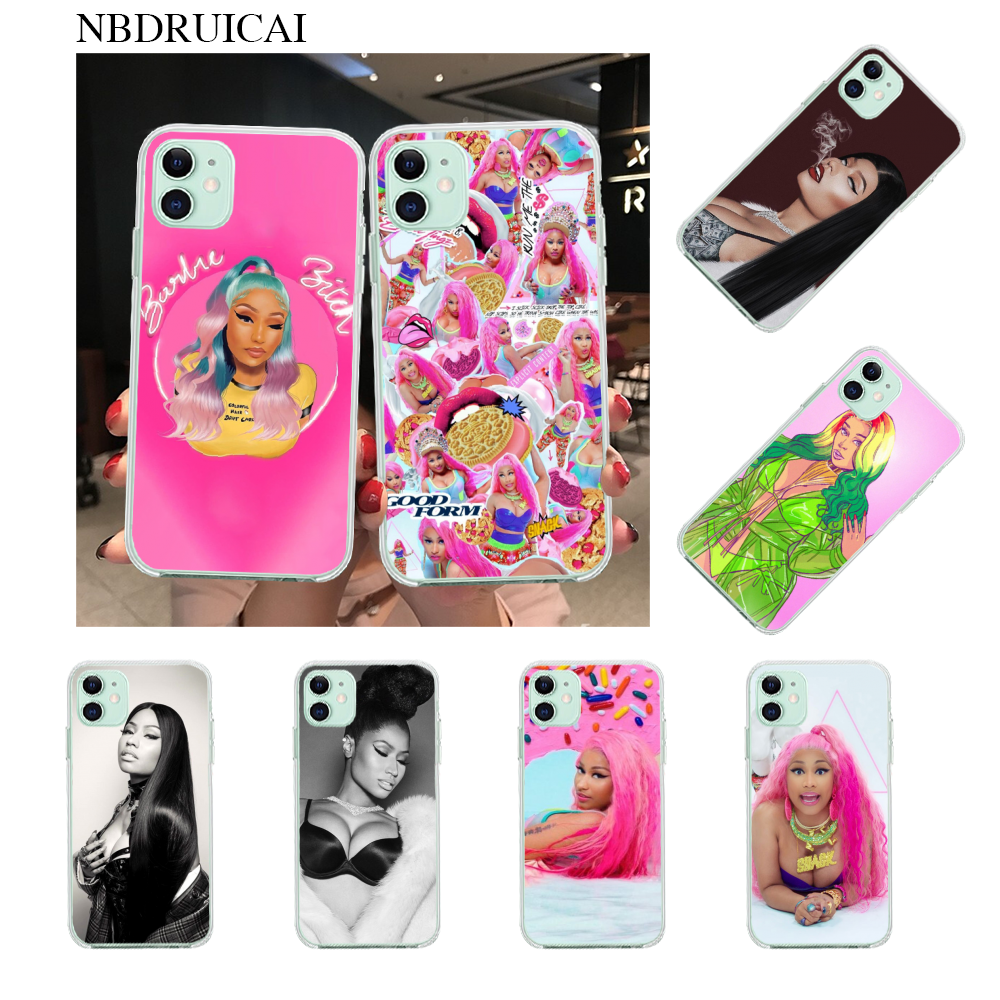NBDRUICAI Nicki Minaj untuk iPhone 11 Pro XS MAX 8 7 6 6S Plus X 5S SE XR Case