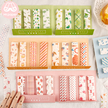 Mr Paper 240pcs/lot 6 Designs Ins Style Fresh Memo Pad Sticky Note Take-away Tape with Release Paper Self-Stick Note Memo Pads недорого