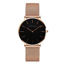 Trendy Fashion Women Watch Stainless Steel Mesh Strap Quartz