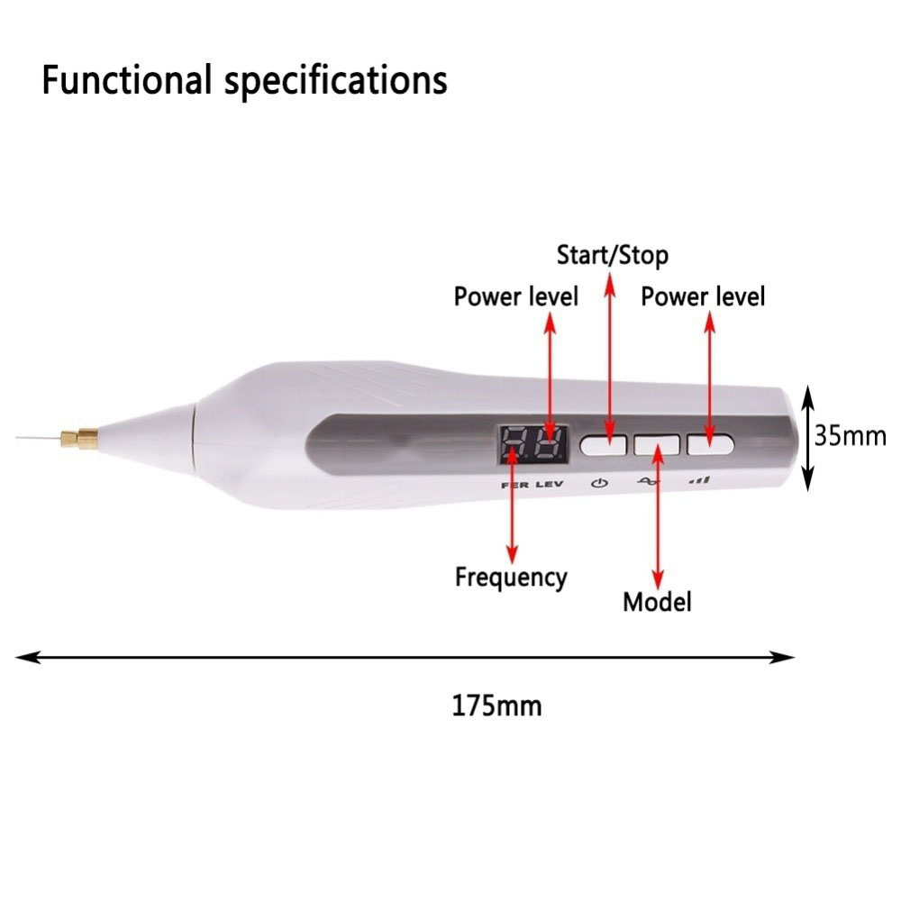 Image 2 - Eyelid Lift Fibroblast Wrinkle Spot Tattoo Mole Removal Plasma Pen plasmapen for Face Skin Lift Beauty Care machine-in Face Skin Care Tools from Beauty & Health