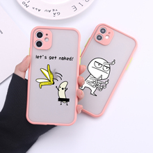 Cute Funny Memes Camera Protection Bumper Phone Cases For iPhone 11 Pro Max XR XS Max X 8 7 6S Plus Matte Shockproof Back Cover