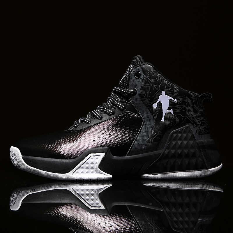 حجم كبير 45 النساء والرجال حذاء كرة السلة تنفس أحذية رياضية حذاء رجالي Zapatillas كرة السلة Hombre حذاء من الجلد الأردن
