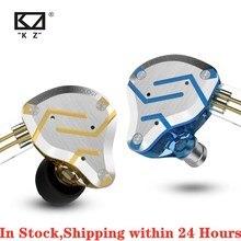 KZ ZS10 プロ 4BA + 1DD KZ ハイブリッドイヤホンヘッドセットハイファイイヤ耳イヤホンモニター KZ ため AS10 ZS10 ZSN プロ ZSXZST ZS5