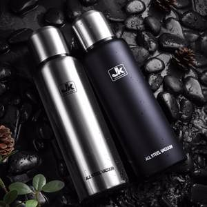 500/750/1000 / 1500ml Russian outdoor thermos portable large capacity stainless steel mug military style vacuum bottle