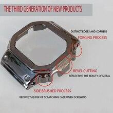 Pasek do zegarków GWM5610 DW5600 pasek do zegarków etui na pasek metalowa bransoleta ze stali nierdzewnej pas stalowy akcesoria