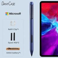 Penna stilo per Surface Go Pro X Pro 7 Pro 6 Pro 5 4 3 2 Tablet PC per Microsoft Surface Laptop 2 3 penna pressione carica libro Tou