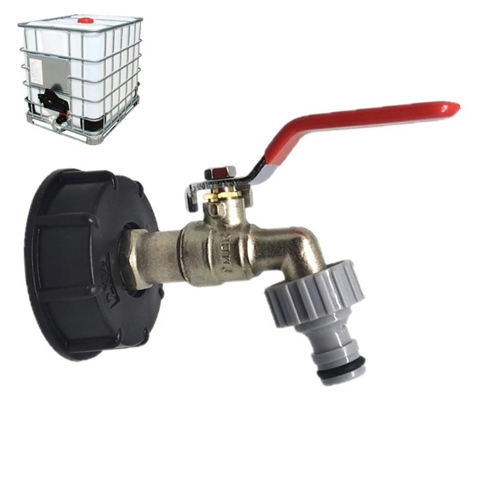 SUPERTOOL IBC Adaptador de tanque de 1//2 pulgadas S60X6 IBC para drenaje de tanque IBC