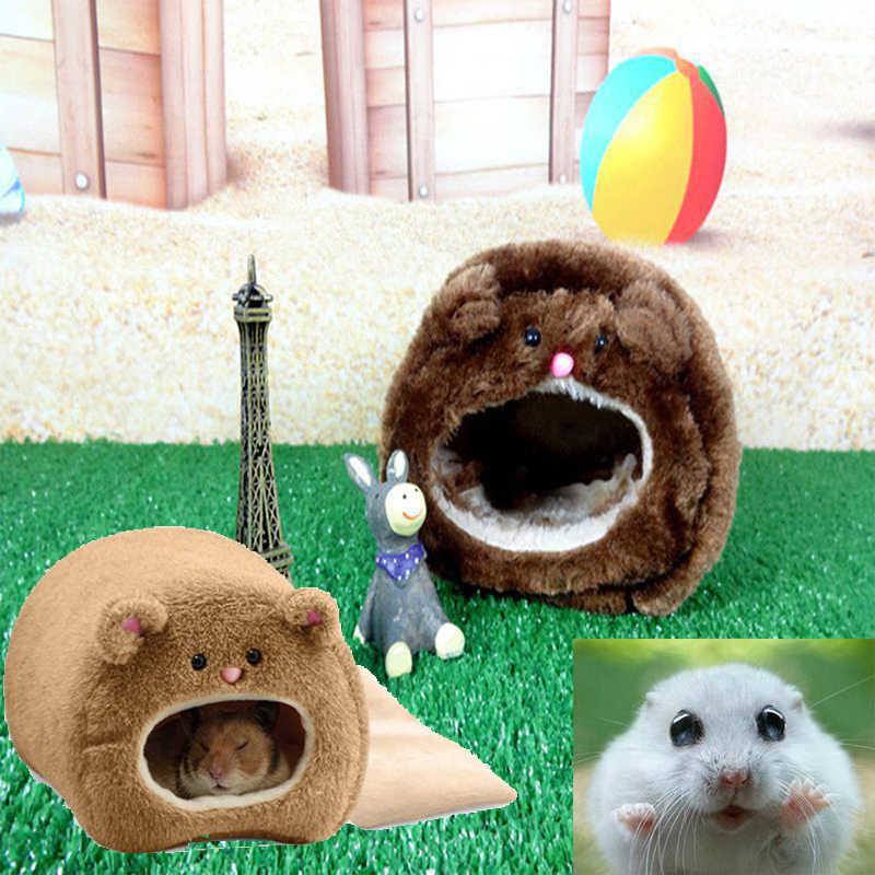 1Pcs Tempat Tidur Hangat Tikus Hammock Tupai Musim Dingin Mainan Hewan Peliharaan Kandang Hamster Rumah Ferret Kelinci Guinea Pig Hamster Tupai Tikus rumah Kandang