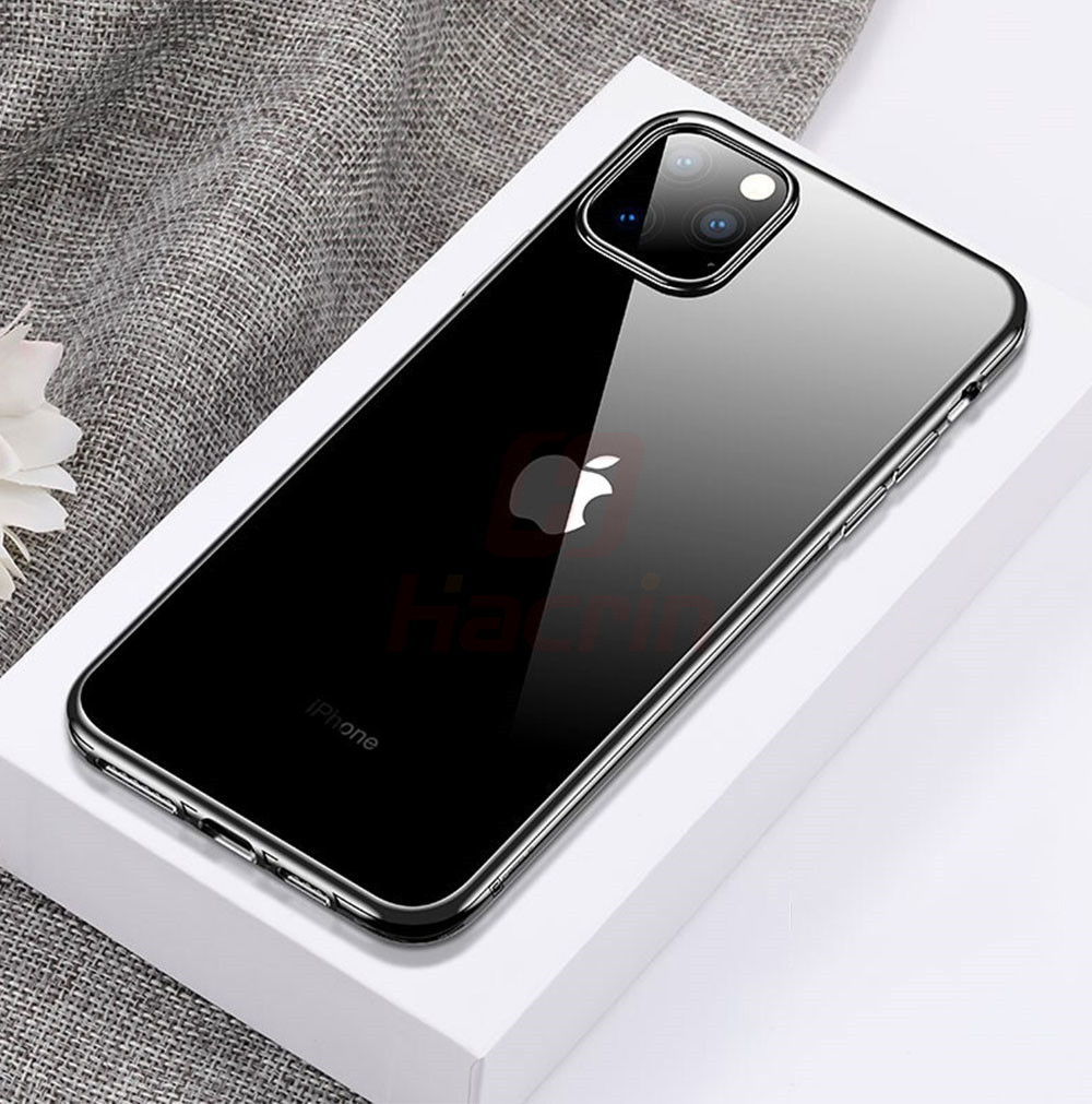 Hacrin Transparent TPU Silicone Case for iPhone 11/11 Pro/11 Pro Max 12