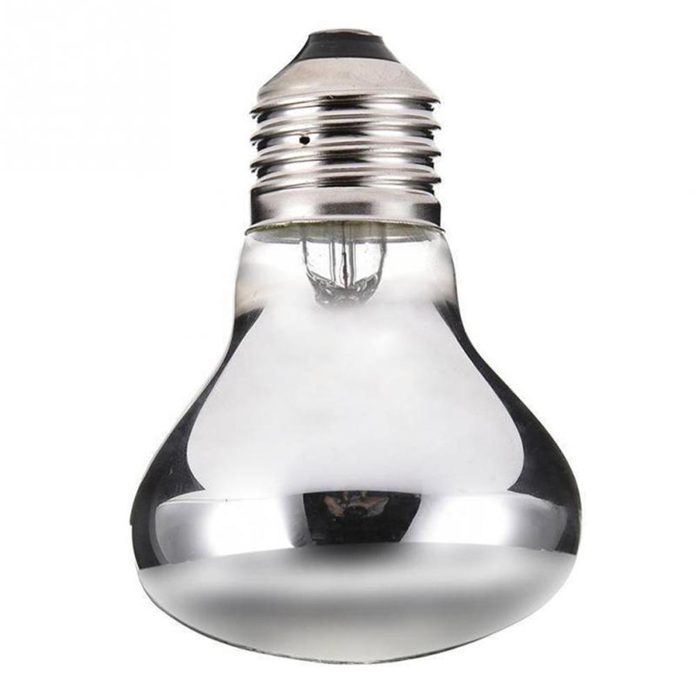 Reptile Heat Lamp 50W 100W Reptile Pet Infrared Heating Light Lamp Bulb Emitter Lamp Night Heat Bulb IR Healthy Professional