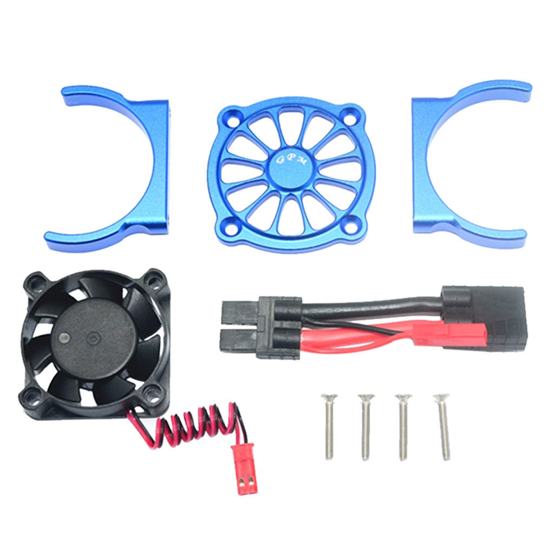 FBIL-Remote Control Car Parts Motor Cooling Fan for <font><b>1/10</b></font> TRAXXAS E REVO 2.0 RC Car Part Multi-Color <font><b>Accessories</b></font> image