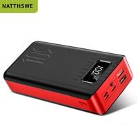 NATTHSWE Power Bank Portable 30000 MAh for All Xiaomi Smart Phone Battery Powerbank Fast Charging External Battery