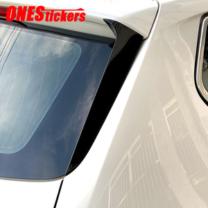 For BMW X3 F25 2011 2012 2013 2014 2015 2016 2017 Car Accessories Rear Windshield Side Wing Spoiler Trim Cover Decorative Strip