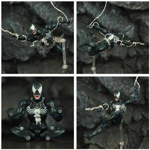 Image 5 - Comic venom & incrível aranha 6 , figura de ação, edward, eddie brock legends, peter parker, homem, vilão kos mafex boneca de brinquedo 088 075