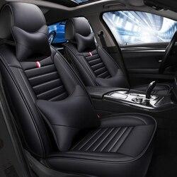 Leder auto sitz abdeckung für Peugeot 308 sw 206 307 407 207 2008 208 406 301 3008 508 607 auto zubehör 5 sitze