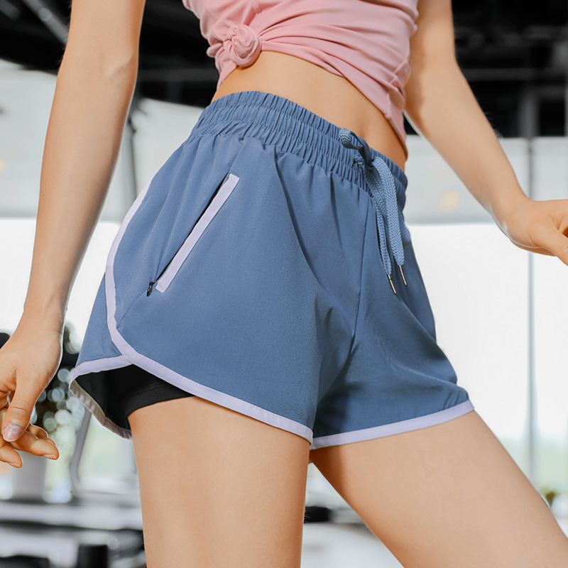 New Lady Shorts In Summer Women Do Not Run Out Of Loose Sweatpants Run Absorb Sweat Quickly Dry Fitness Shorts