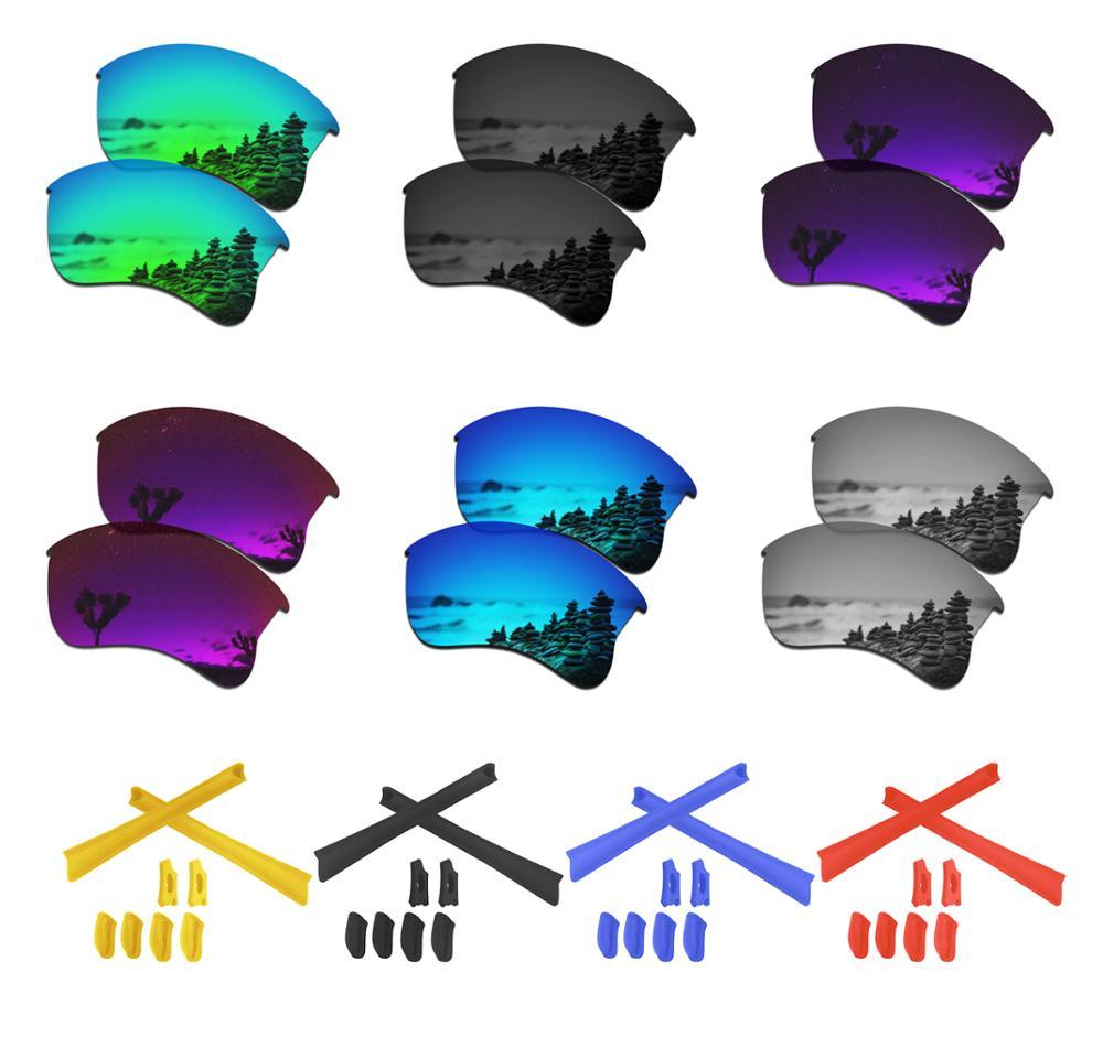SmartVLT Polarized Replacement Lenses For Oakley Flak Jacket XLJ Sunglasses - Multiple Options