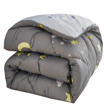 Edredón de invierno de estilo lindo para regalo de Navidad 100% Superfina manta de fibra de poliéster edredón cálido y colcha confortable