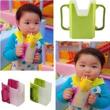 Multiuse Baby Milk Box Bracket Tray Adjustable Stand Juice Drinking Cup Holder Retractable Folding Water Bottle Infant Learning(China)