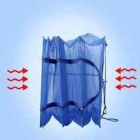 Fish Net Cast Nets Nylon Monofilament Small Fold Mesh Sunfish MultifunctionThrow Catch Fishing Network Pesca Peche Fishing Gear