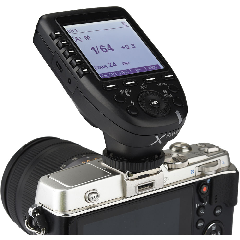 Godox XProO T2.4GHz 1/8000s HSS TTL Wireless for Sony Cameras 1/8000s HSS 11 Customizable Functions