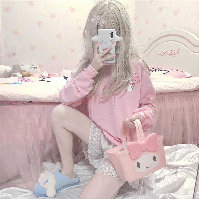 Kawaii My Melody Pink Long Sleeve Top