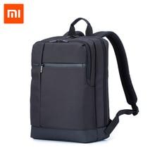 Xiaomi podróżny plecak biznesowy z 3 kieszeniami duże kieszenie zapinane na zamek plecak poliester 1260D torby dla mężczyzn kobiety Laptop