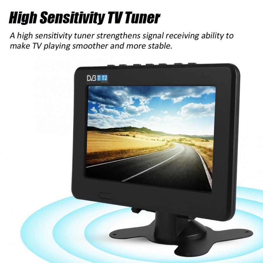 LEADSTAR TV HD 1080P portatil numérique lcd tv DVB haute sensibilité 7 pouces voiture stéréo numérique entourant la voiture télévision led tv nouveau