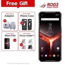 Оригинальный телефон Asus ROG Phone 2, телефон Asus ROG II ZS660KL, мобильный телефон 8 ГБ, 128 ГБ, Восьмиядерный процессор Snapdragon855, 6,59 дюйма, 6000 мАч, 48 МП, NFC, Android 9,0