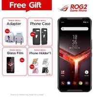 "Original ROG teléfono 2 Asus ROG teléfono II ZS660KL teléfono móvil 8GB 128GB Snapdragon855 + OctaCore 6,59 ""6000mAh 48MP NFC Android 9,0"