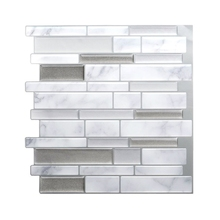 3d self-adhesive waterproof three-dimensional crystal kitchen bathroom toilet antibacterial and moisture-proof three-dimensional