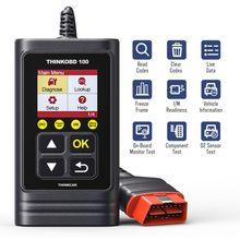 Thinkcar thinkobd 100 obd2 scanner obdii ferramenta de diagnóstico ferramenta de verificação automática diagnóstico automotivo pk elm327 cr3001 cr319