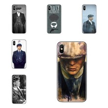 Silicone étuis pour samsung Galaxy S2 S3 S4 S5 MINI S6 S7 bord S8 S9 Plus Note 2 3 4 5 8 Coque Fundas Peaky Blinders Tommy Shelby(China)