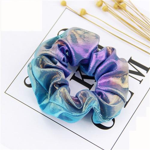 Корейский женский ободок для волос для девочек, полосатые женские резинки для волос, конский хвост, Женский держатель, веревка с ананасовым принтом, аксессуары для волос - Цвет: m6