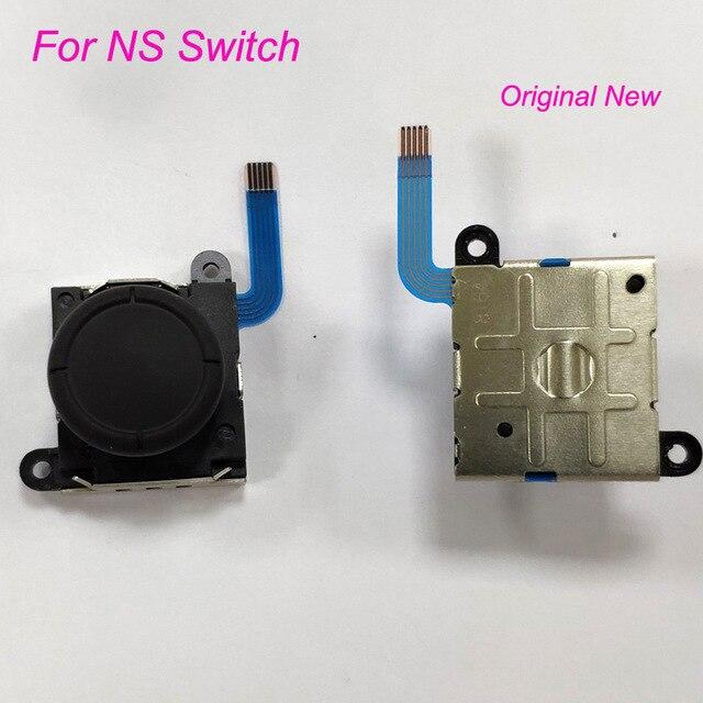 50 sztuk na przełącznik do nintendo 3D kciuk kij Rocker Joy con Joystick kontroler analogowy naprawa 3D na przełącznik do nintendo