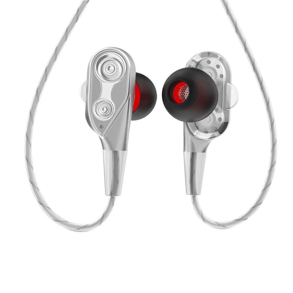 3.5 مللي متر AUX جاك سماعات باس في الأذن سماعات مع ميكروفون و التحكم في مستوى الصوت سماعة للهاتف المحمول اللوحي سماعة